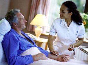 assistenza ospedaliera per anziani